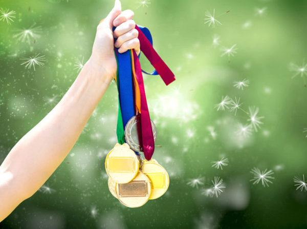 Поздравляем победителей акции «Весенний марафон»!