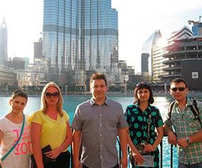 Поездка в Дубай в награду за продуктивную работу!