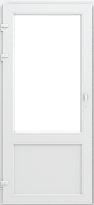 Межкомнатные пластиковые двери:<br> профиль КВЕ 58