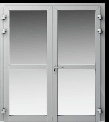 Аллюминиевые двери