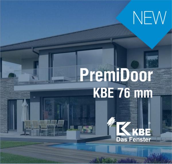 Новый продукт: PremiDoor КВЕ 76mm